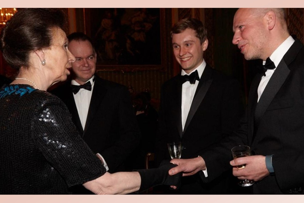 The Turing Trust represented at Global Academies Dinner at Buckingham Palace