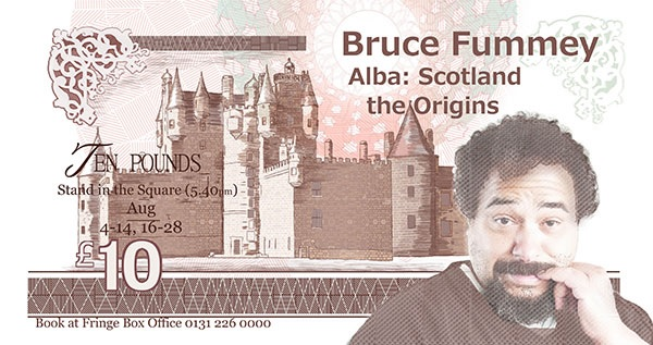 Advert for Bruce Fummey Alba: Scotland the Origins