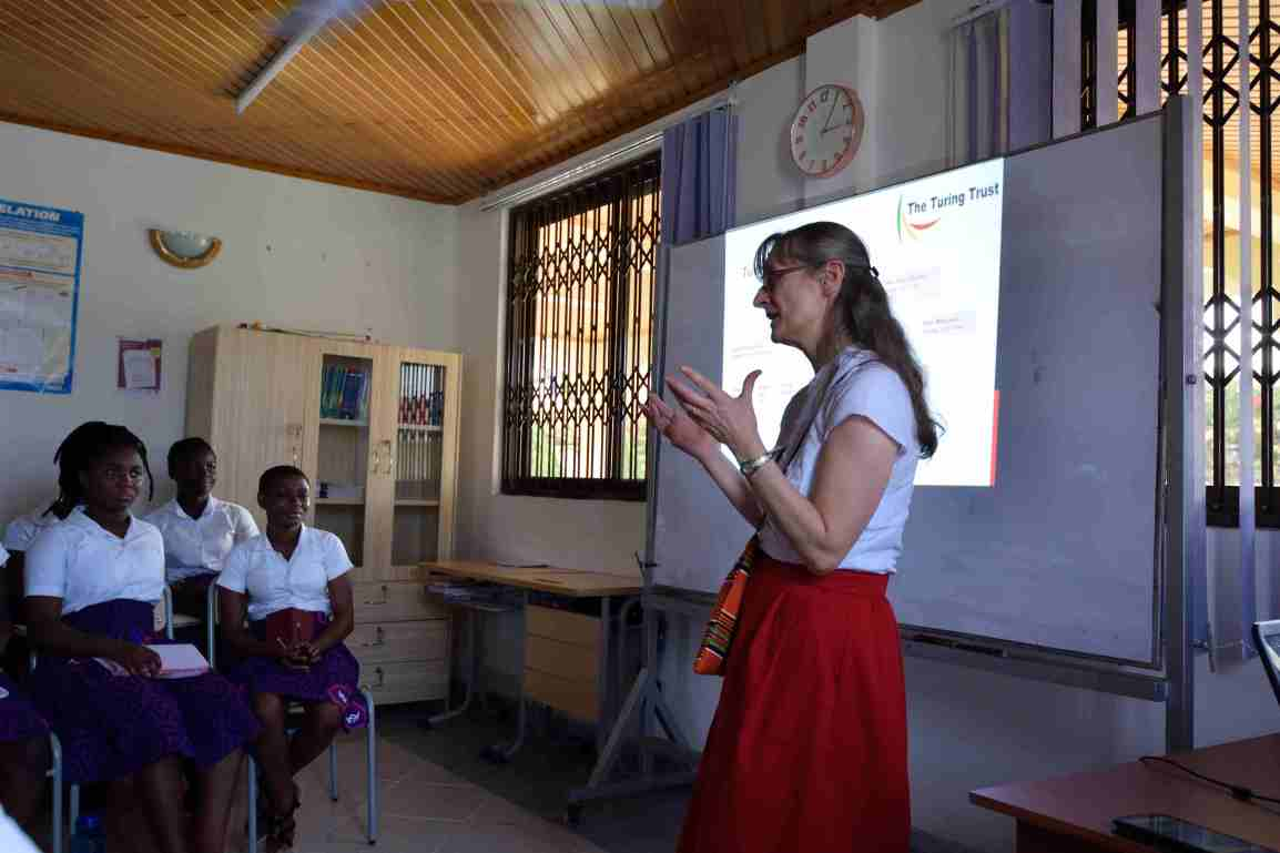 Nicola Turing at African Science Academy