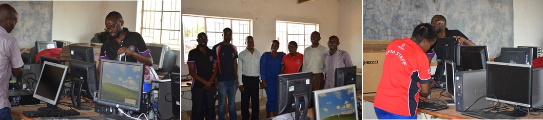 James Gondwe and his team at Lidoma