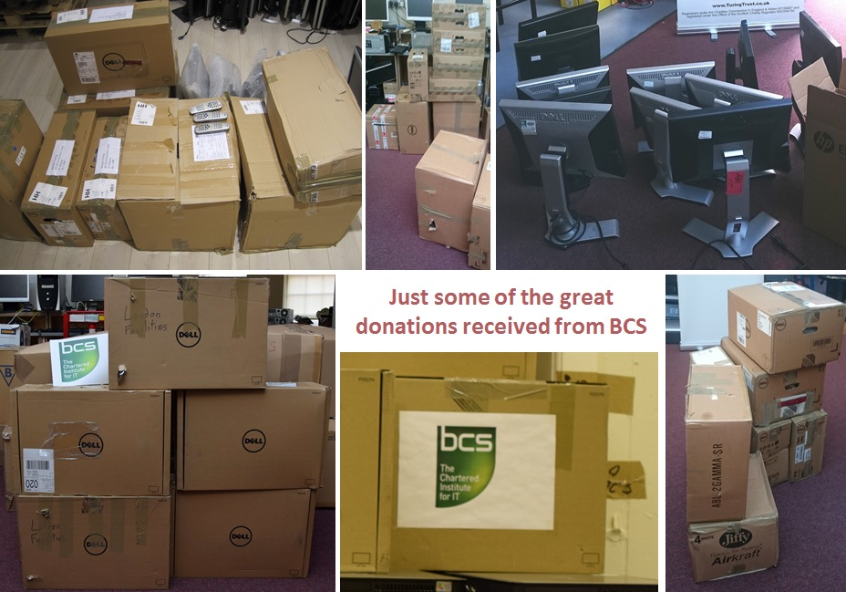 Some of great donations received from BCS