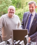 Atlas Africa Computers, Turing Trust operations manager Neil Gilchrist (left) with Atlas chief operating officer Harry van der Vossen_opt