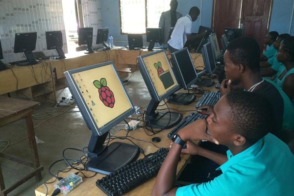 Raspberry Pi lab Ghana
