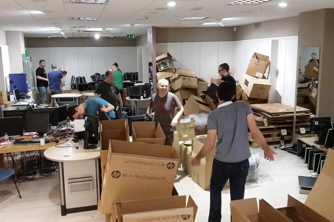 Skyscanner volunteering day