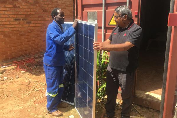 Solar panels at last