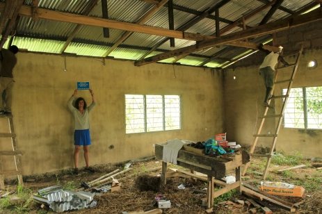 Construction-of-Afoako-lab