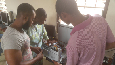 Training workshop for ICT teachers Ghana