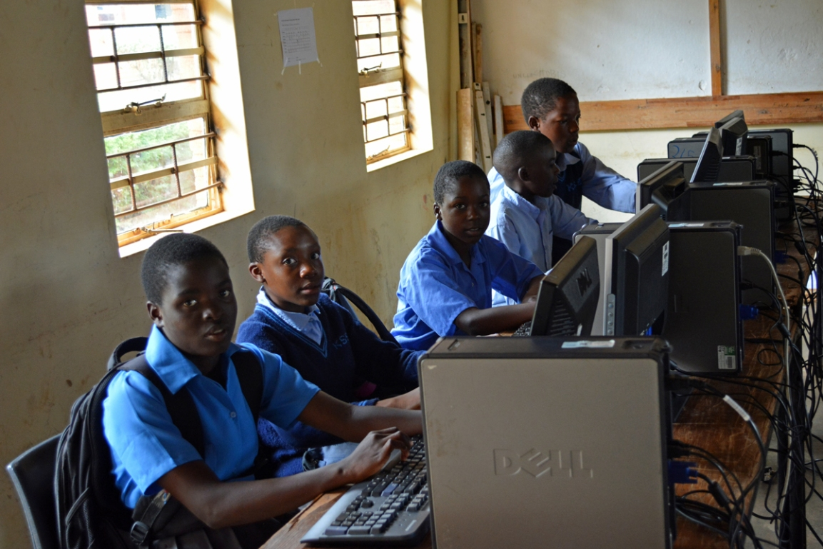 Katoto secondary school computer laboratory