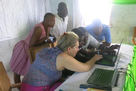 Training in data visualisation, Ghana