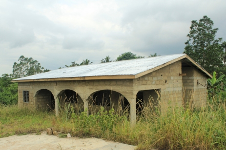 Afoako computer lab under construction 2013