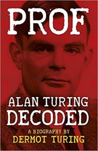 Prof: Alan Turing decoded paperback cover and link