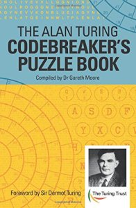 Alan Turing Codebreaker's puzzlebook cover and link