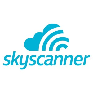 Skyscanner stacked logo