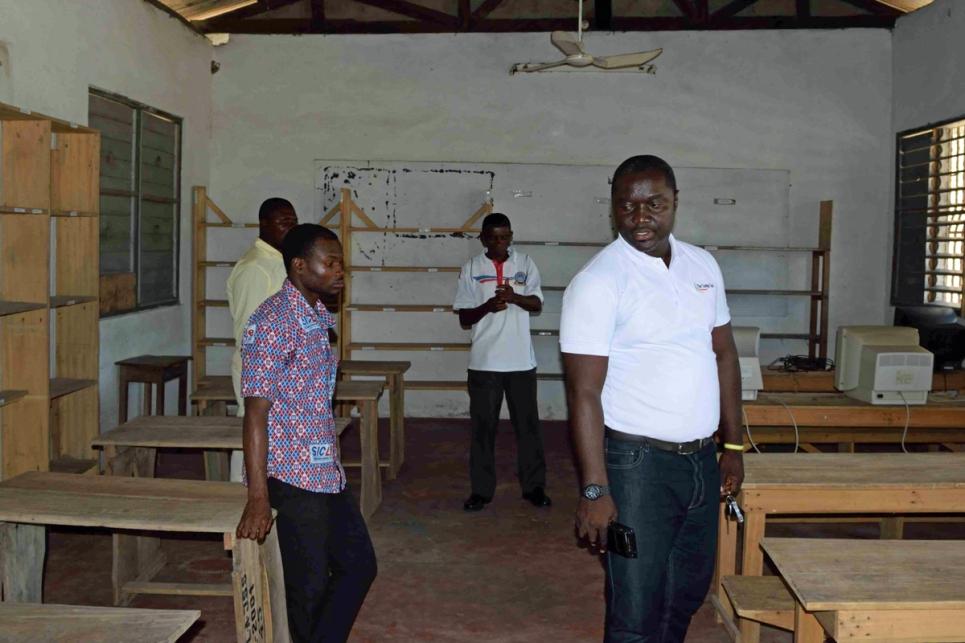 Assessment visit Ghana