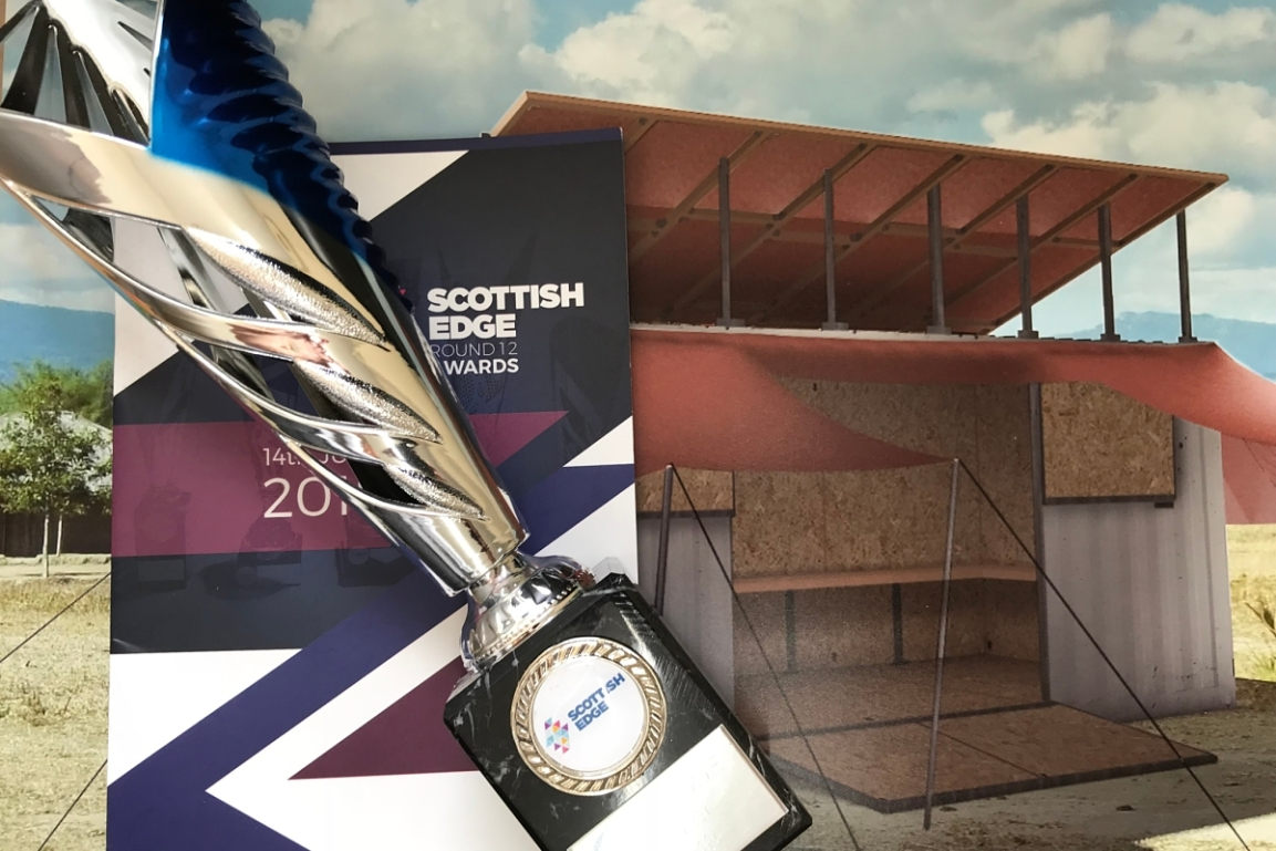 Scottish Edge win for the Turing Trust!