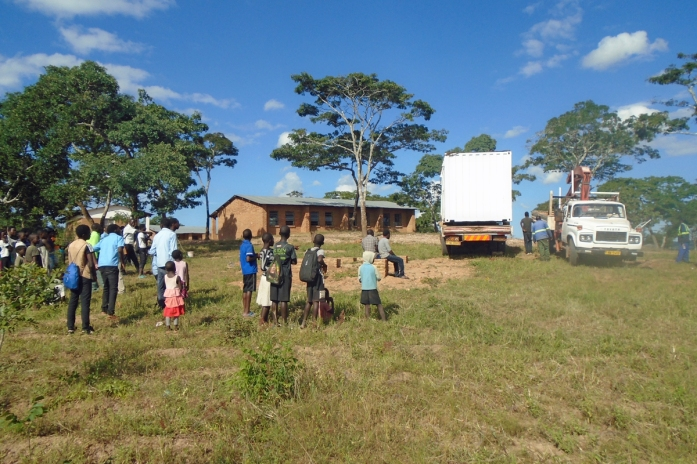SolarBerry arriving in Choma