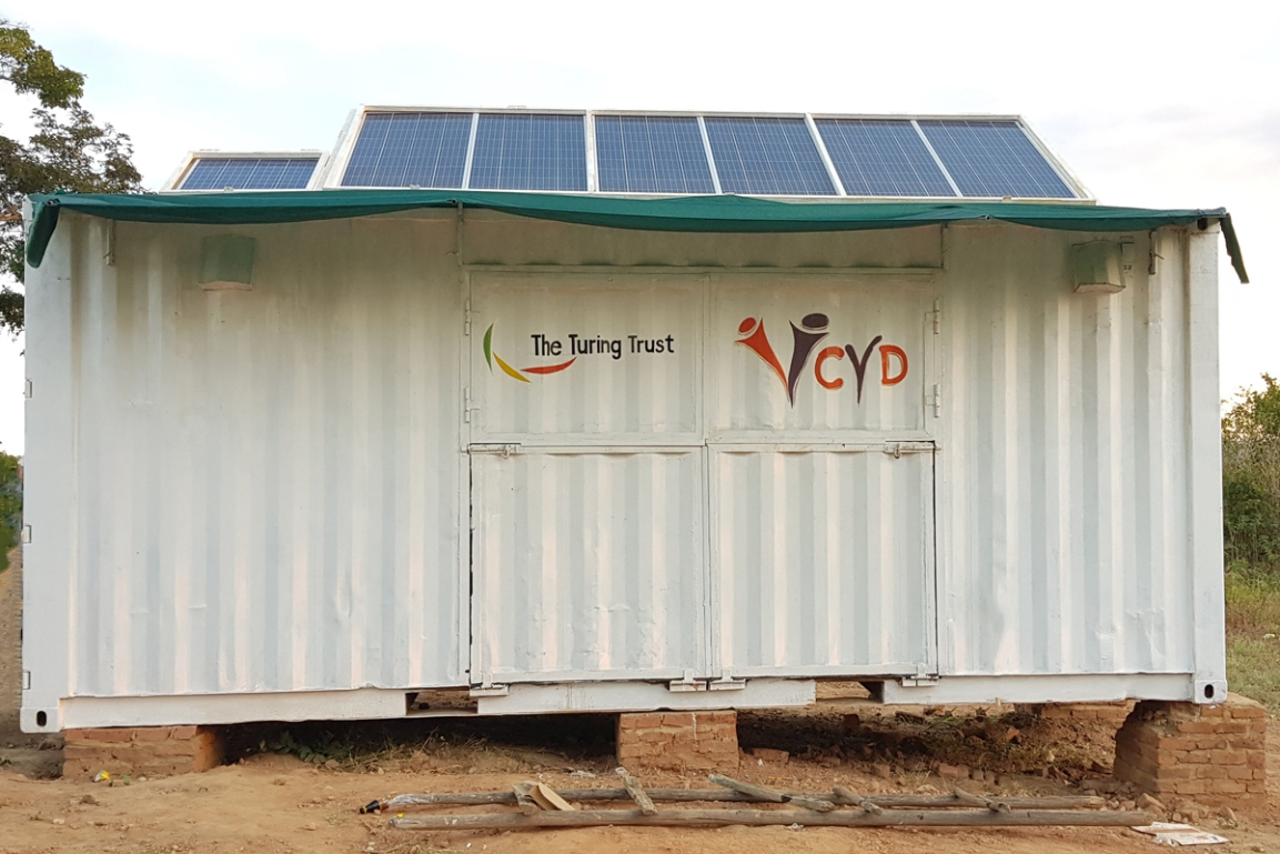 The completed SolarBerry in Choma