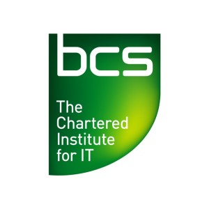 BCS. The Chartered Institute for IT logo