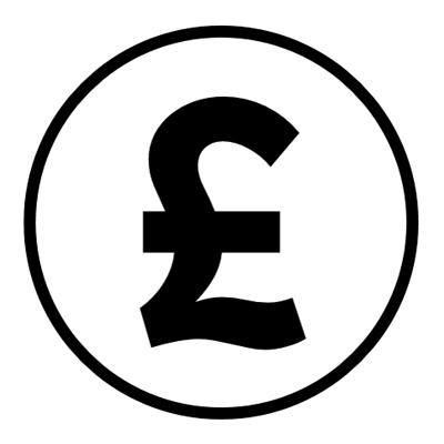GB pound icon