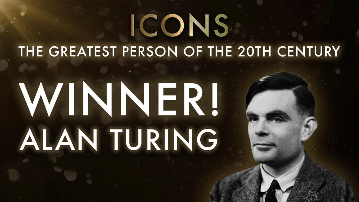 Alan Turing wins BBC Icons