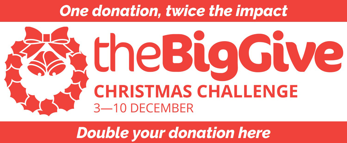 Donate to our Big Give Chrsitmas Challenge